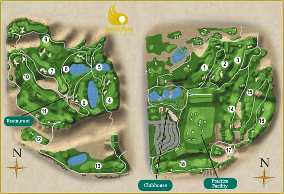 Palm Course Layout